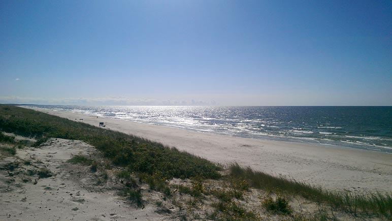 Ostseestrand von Smiltyne